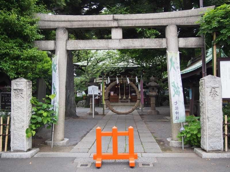 七社神社の鳥居
