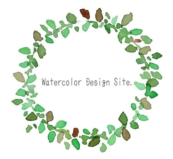 結婚証明書で使えるフリーロゴで気に入った植物のラウンドフレーム