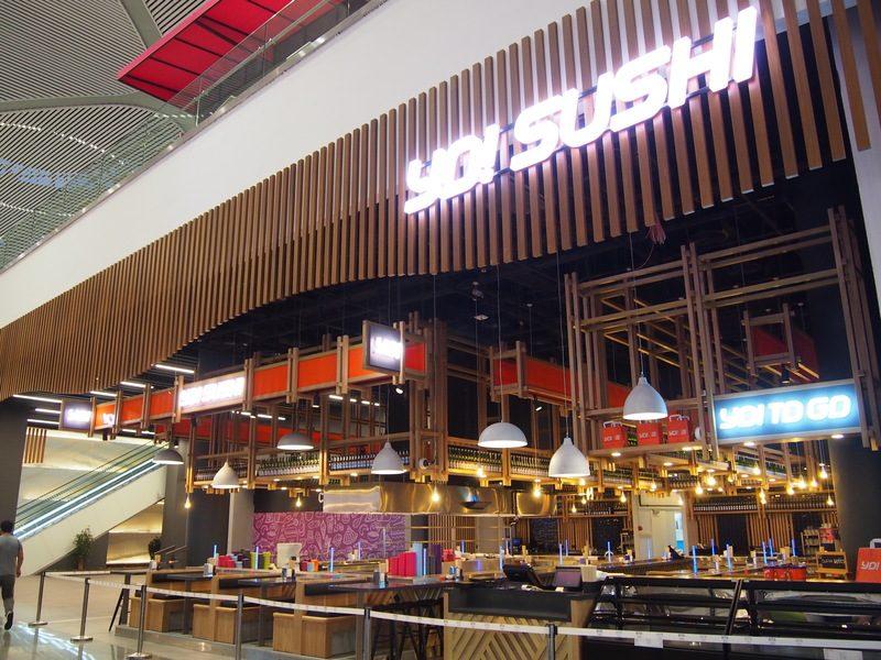 新イスタンブール空港にある和食レストランYO! SUSHI
