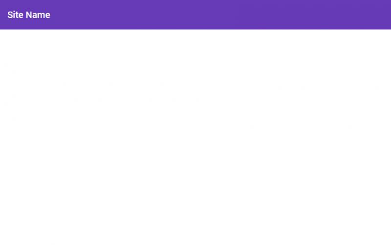 画面上部に、ツールバーが表示されていれば、Angular Materialが正しく適用できています。
