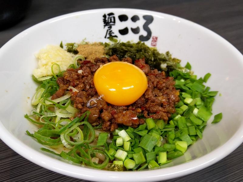 蒲田の台湾まぜそばが絶品の「麺屋 こころ」の台湾まぜそば