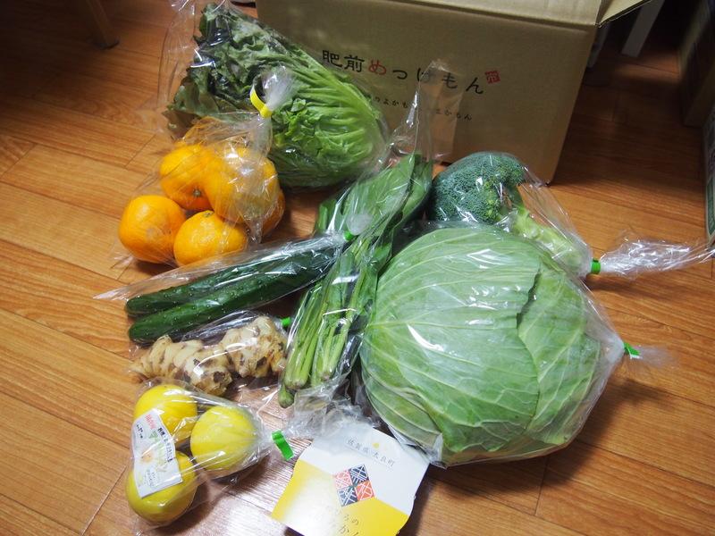ふるさとチョイスの佐賀県太良町の返礼品は野菜詰め合わせ