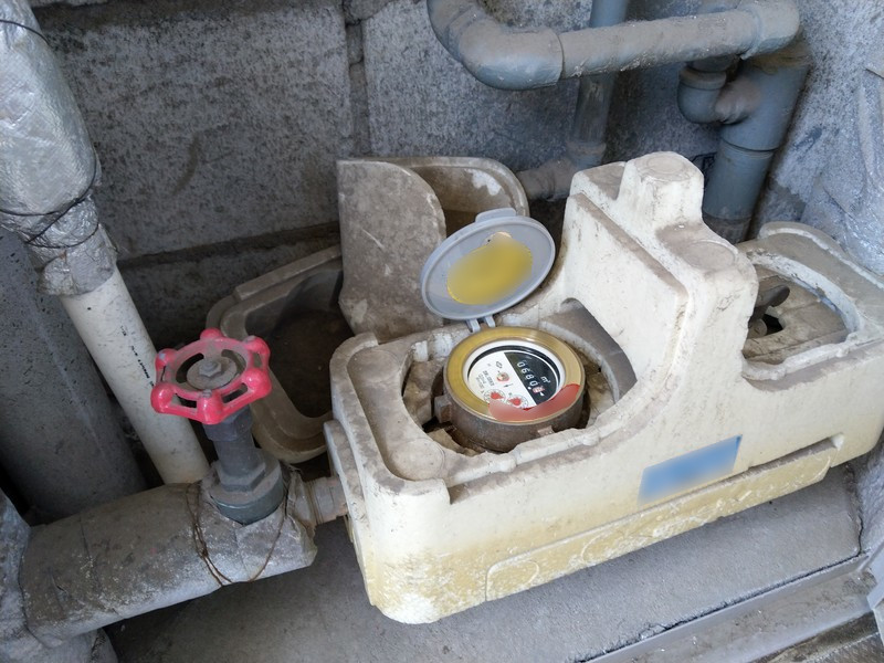 賃貸の水道メーターと元栓