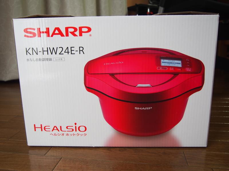 SHARPの無水電気調理鍋KN-HW24E-R